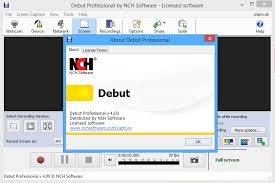 Nch debut video capture software pro 1 82 | Debut Video