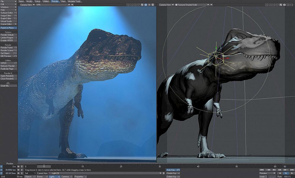 دانلود آخرین نسخه نرم افزار Newtek Lightwave مدلسازی ساخت انیمیشن