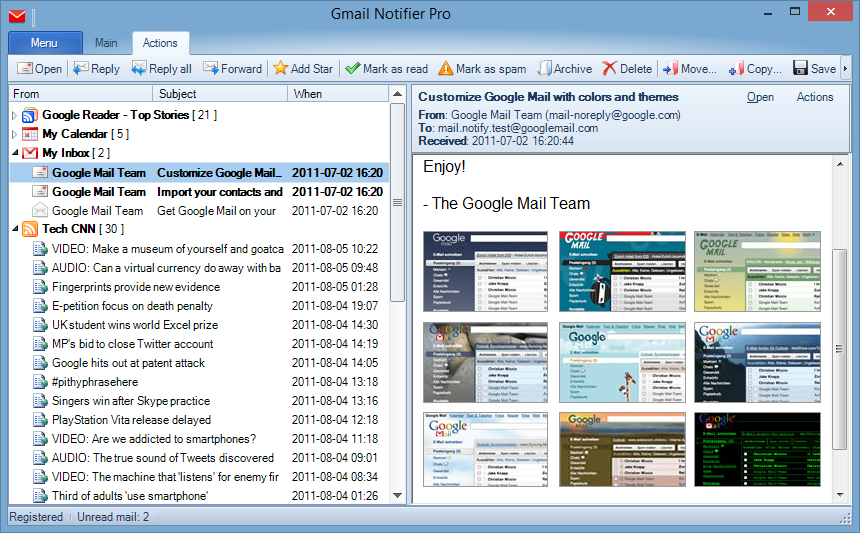 دانلود Gmail Notifier Pro 5.3.3 Multilingual + Portable