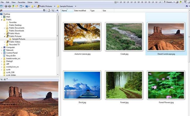 دانلود نرم افزار Q-Dir 5.65 مدیریت پوشه ها و فایل ها