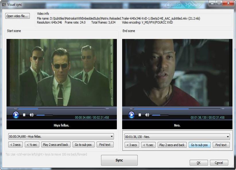 دانلود نرم افزار Subtitle Edit ویرایش زیرنویس