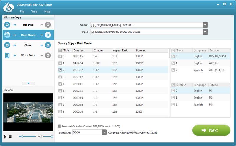 دانلود نرم افزار Aiseesoft Blu-ray Copy رایت حرفه ای دیسک بلوری