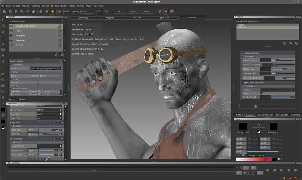 دانلود نرم افزار The Foundry Mari تکستچرینگ و بافت دهی به اشیا سه بعدی