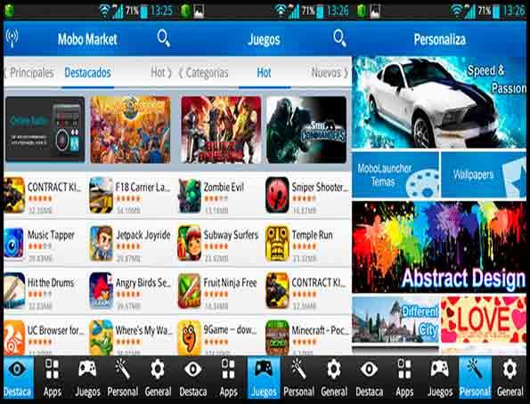دانلود آخرین نسخه نرم افزار موبو مارکت MoboMarket For Android - اندروید