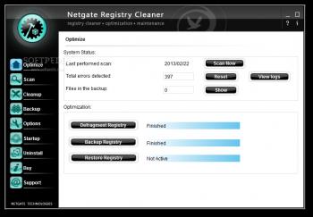 دانلود نرم افزار NETGATE Registry Cleaner رفع مشکلات رجیستری