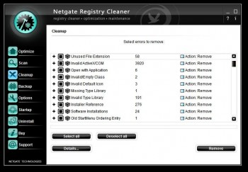 NETGATE Registry Cleaner 2