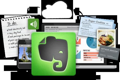 دانلود نرم افزار ذخیره سازی اطلاعات شخصی Evernote