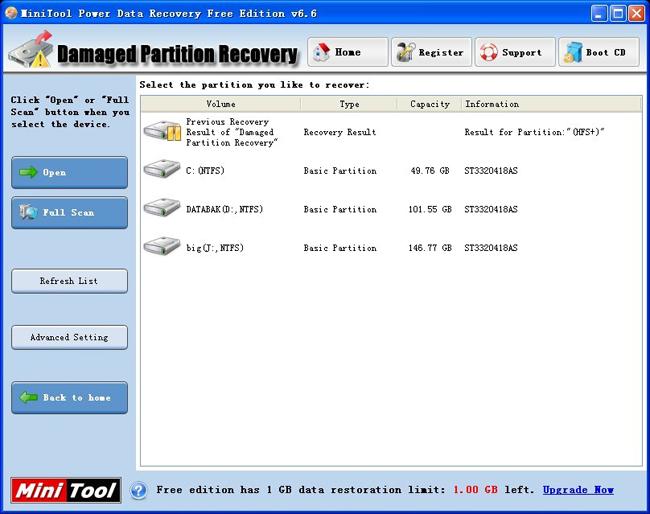 دانلود نرم افزار MiniTool Power Data Recovery ریکاوری هارد