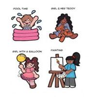کتاب 1000 شخصیت کارتونی برای نقاشی بچه ها