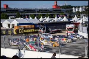 Ford RallyCross Starting GRID