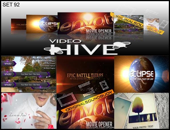 Videohive project After effect پروژه های آماده افتر افکت