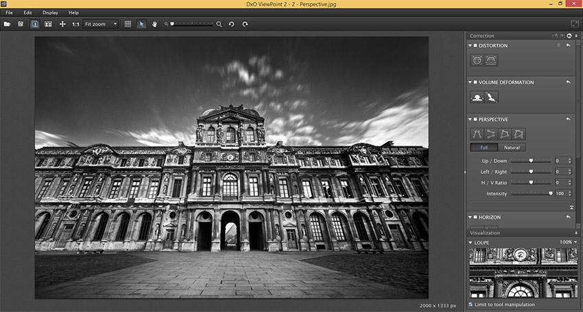 دانلود نرم افزار DxO ViewPoint ویرایشگر حرفه ای تصاویر