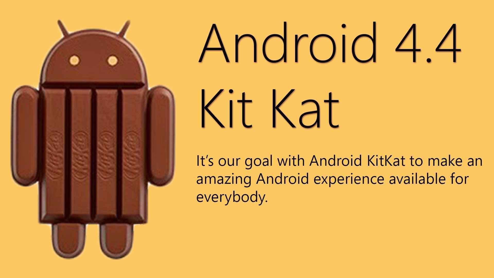 دانلود رایگان اندروید 4.4 کیت کت Android 4.4 Kitkat