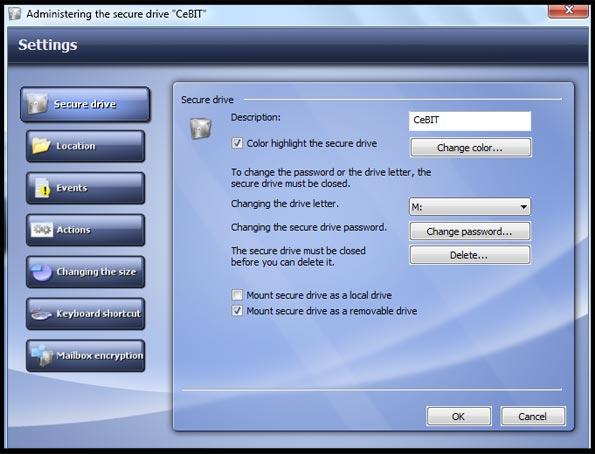 دانلود نرم افزار رمزگذاری بر روی فایل ها Steganos Safe 14.2.0