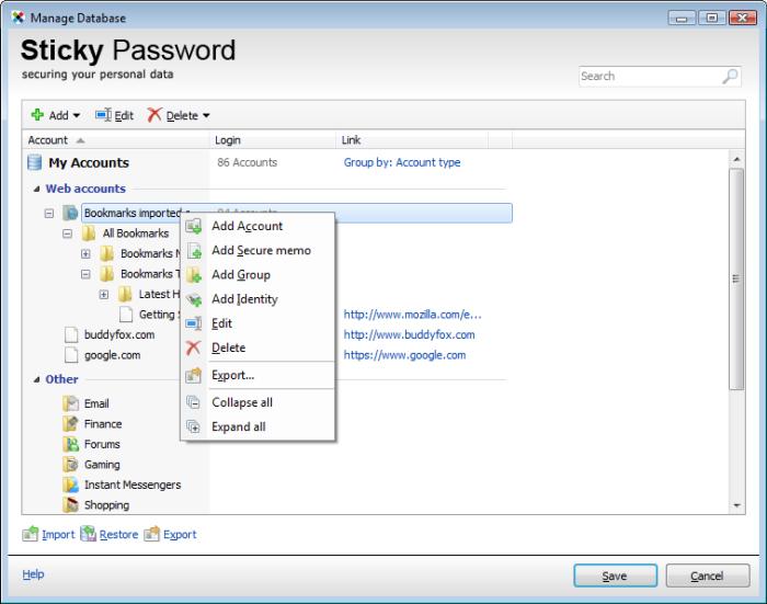 دانلود نرم افزار Sticky Password Pro مدیریت پسورد