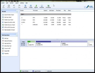 AOMEI Partition Assistant Standard Edition 5.5