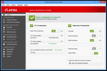 Avira Internet Security Suite 2014