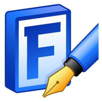 دانلود نرم افزار ساخت فونت حرفه ای FontCreator Professional