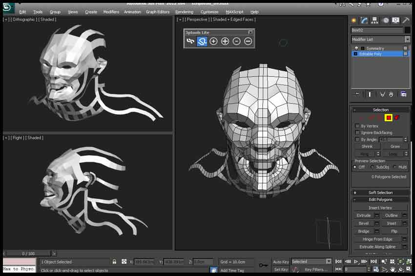 Creating Vegetation for Games in 3ds Max and Mudbox