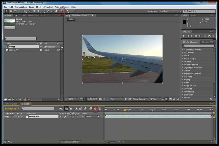 Compositing 3D into Video in Maya and After Effects