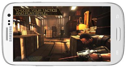 دانلود بازی اندروید آیفون و آیپد Deus Ex The Fall 2014 جنگ های پاییزی