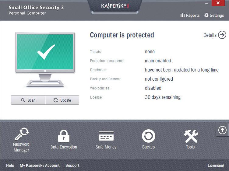 دانلود نرم افزار امینت شرکت ها Kaspersky Small Office Security