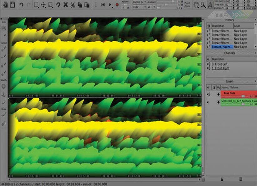 دانلود نرم افزار Sony SpectraLayers Pro ویرایش فایل های صوتی