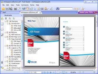 دانلود آخرین نسخه نرم افزار Foxit Reader ساخت و ویرایش اسناد PDF