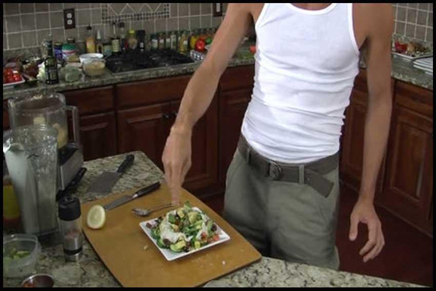 Gourmet Raw Vegan Party Food