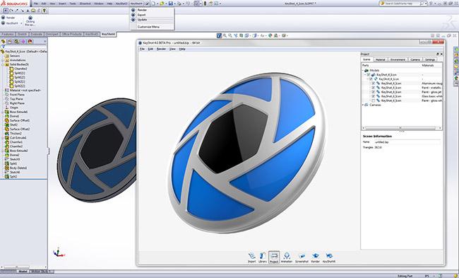 دانلود نرم افزار Luxion KeyShot Pro رندر حرفه ای