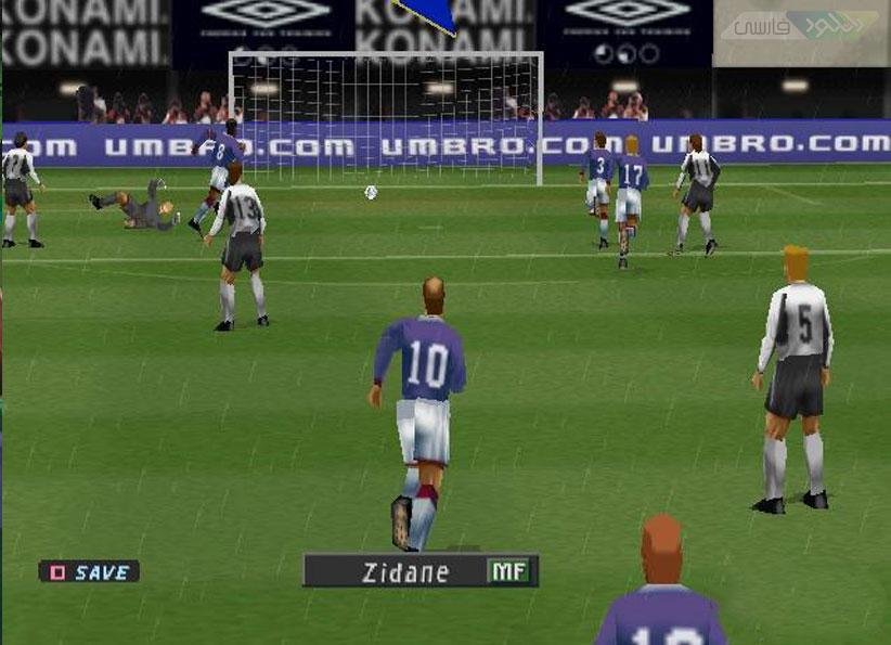 دانلود سری کامل بازی کامپیوتر Pro Evolution Soccer