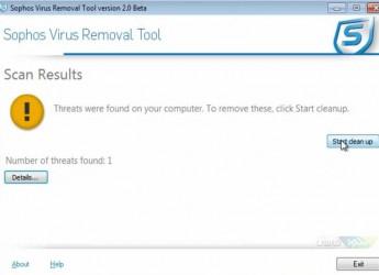 Sophos Virus Removal Tool 2.4