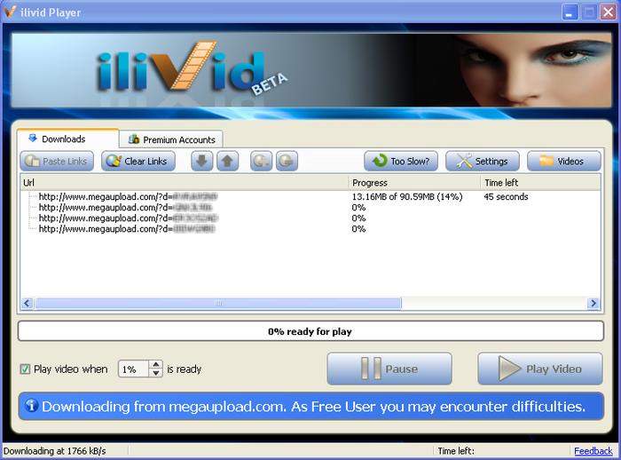 دانلود نرم افزار iLivid Download Manager آیلیوید دانلود منیجر