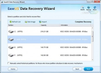 EaseUS Data Recovery Wizard Pro 7.5.0