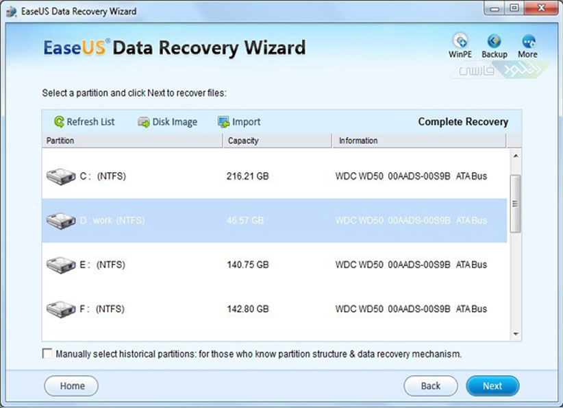 easeus data recovery wizard professional 5.6.1 crack free