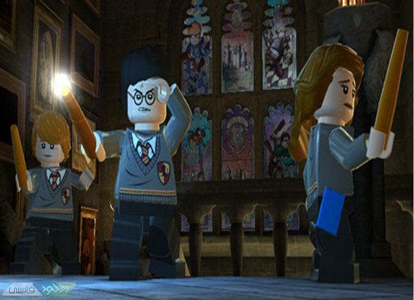 دانلود بازی کامپیوتر Lego Harry Potter Years 57 لگو هری پاتر