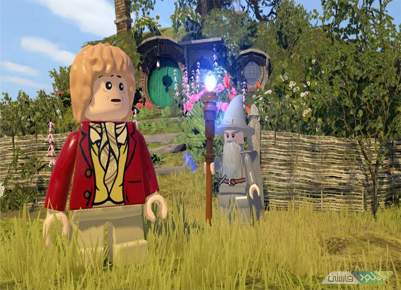 \u0628\u0627\u0632\u06cc LEGO The Hobbit \u0644\u06af\u0648 \u0647\u0627\u0628\u06cc\u062a \u0628\u0631\u0627\u06cc Xbox360 \u0648 PS3