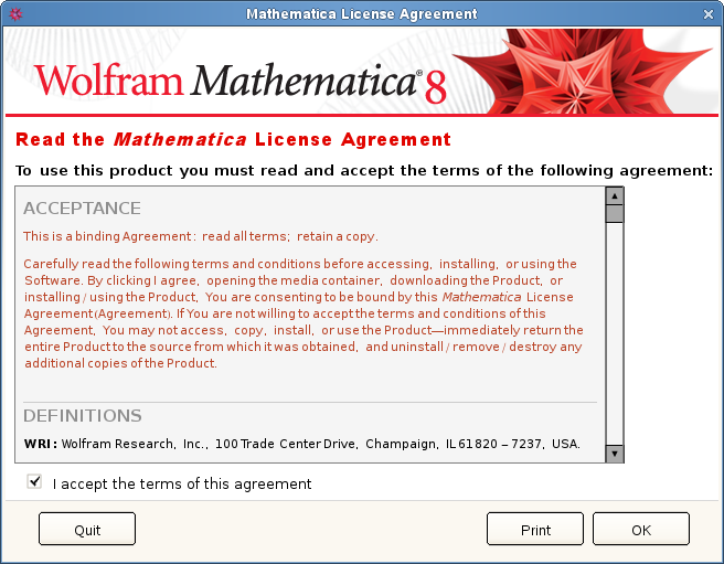 دانلود نرم افزار Mathematica for Linux