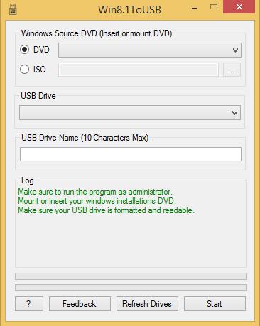 نرم افزار Win8.1ToUSB