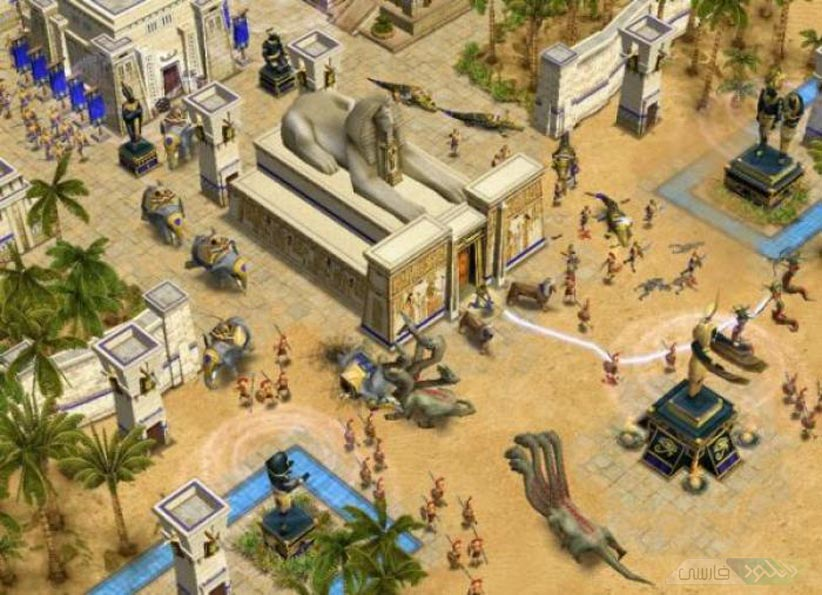 WatFile.com Download Free بازی کامپیوتر Age of Mythology عصر اسطوره ها