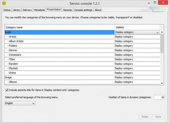 : Serviio Pro v1.4.1.2