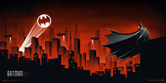 Batman The Animated Series - screen