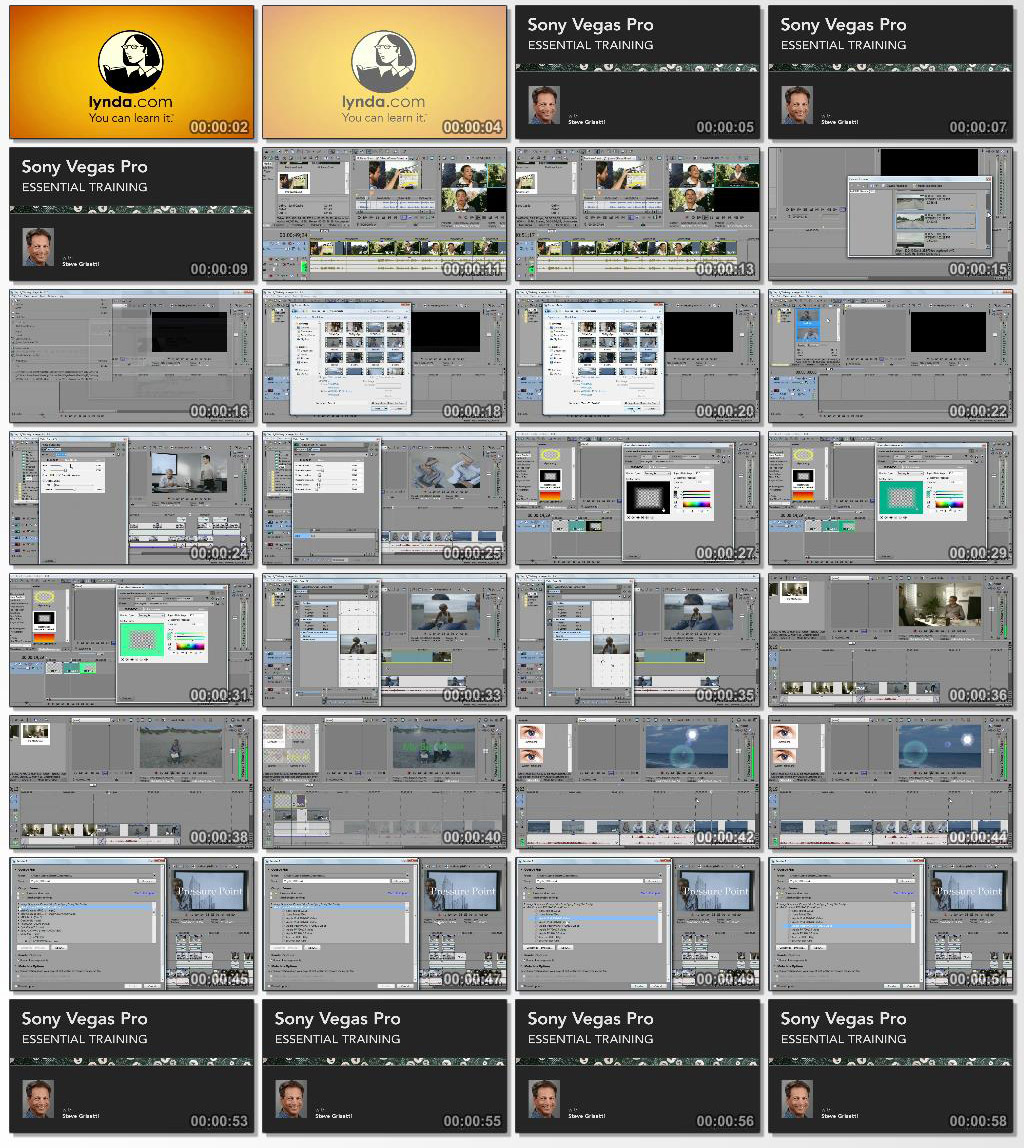 Lynda Sony Vegas Pro 12 Essential Training 2013