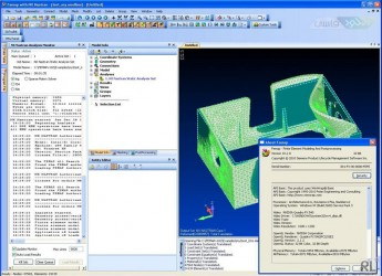 دانلود آخرین نسخه نرم افزار Siemens NX Nastran تحلیل پیشرفته زیمنس