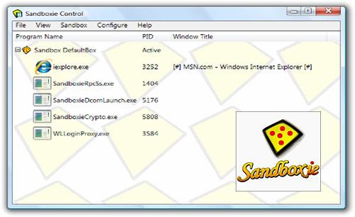 دانلود نرم افزار Sandboxie