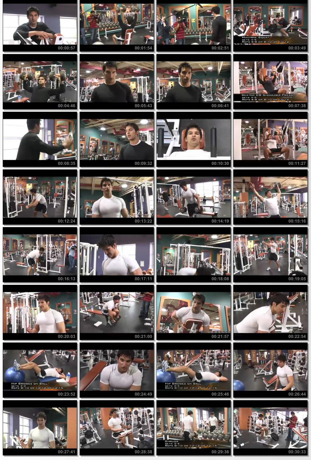 دانلود فیلم آموزش بدنسازی Vince Delmonte - No Nonsense Muscle Building