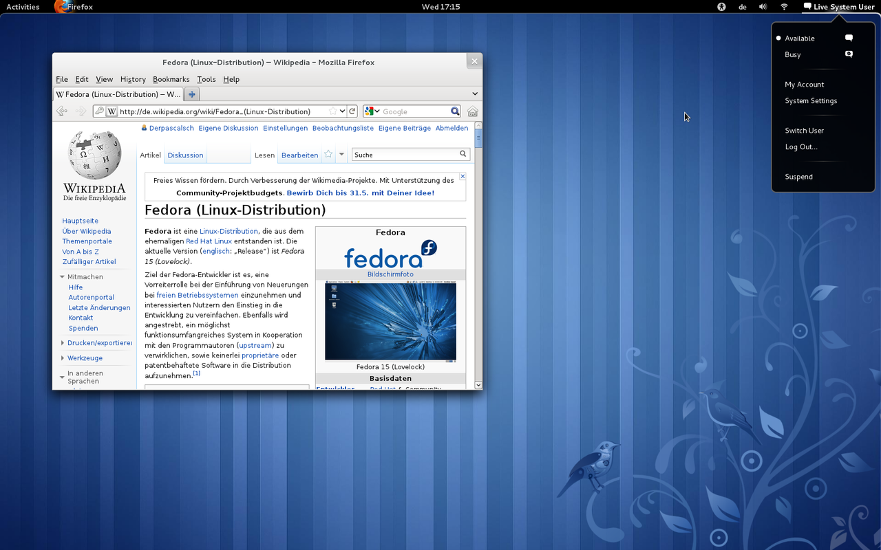 دانلود آخرین نسخه سیستم عامل لینوکس فدورا Linux Fedora