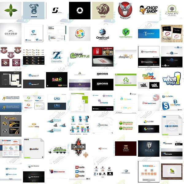دانلود تصاویر الهام بخش برای طراحی لوگو Logo Inspiration