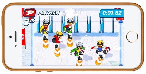 دانلود بازی Playman Winter Games برای آیفون آیپد و آیپاد لمسی