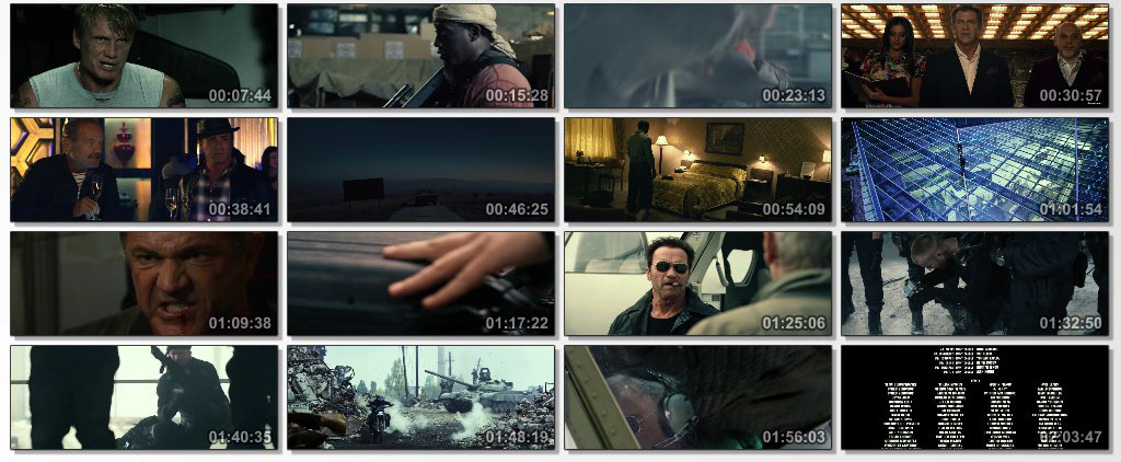 The Expendables 3 - screen